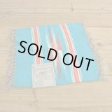 Chimayo Wool Blanket 【Turquoise Blue】