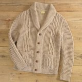 Falcarragh Shawl Collar Cardigan MADE IN IRELAND 【Medium】