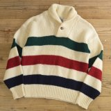 ENVIRONMENTAL CLOTHING Shawl Collar Sweater MADE IN USA 【Medium】