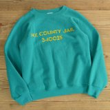 Hanes JAIL Print Sweat MADE IN USA 【Ladys】