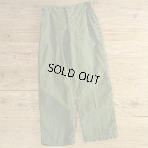 画像1: 50s US ARMY 13 Star Baker Pants 【W31】