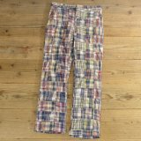 70-80s Carroll Reed Patchwork Pants 【W34】