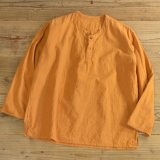 Unknown No Collar Pullover Shirts 【Small】