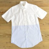 J.CREW Plain×Stripe B.D Shirts 【X-Small】