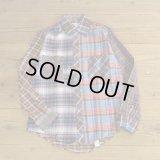 Wood Haven Crazy Pattern Flannle Shirts Dead Stock 【Medium】