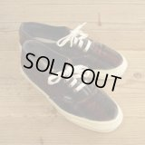 VANS AUTHENTIC Velor Stripe MADE IN USA 【24.5-25cm】