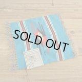 Chimayo Wool Blanket 【Turquoise Blue】