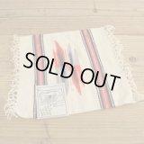 Chimayo Wool Blanket 【White】
