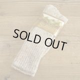 80s MORETZ SPORTS Color Nep Socks MADE IN USA 【Beige】