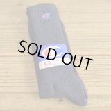Champion Cotton Socks MADE IN USA Dead Stock 【Navy】