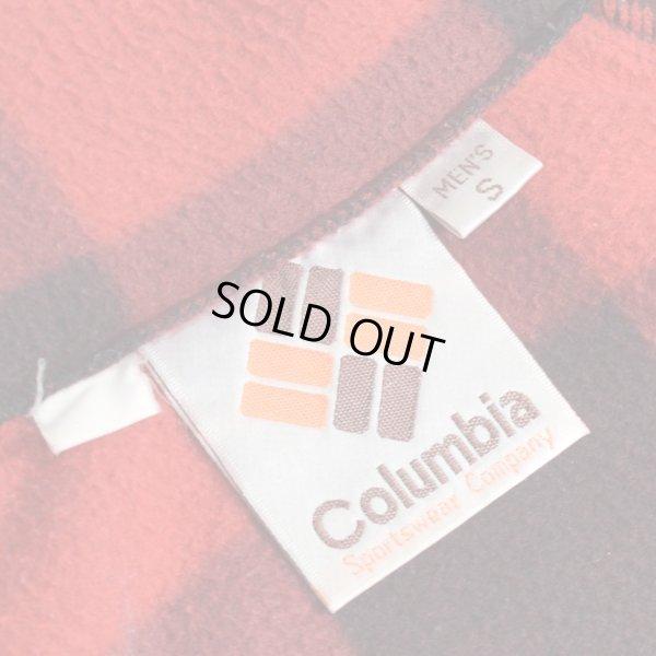 画像3: Columbia コロンビア ブロックチェック フリースジャケット 【Sサイズ】