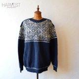 Jantzen Pattern Crew Sweater  【SALE】