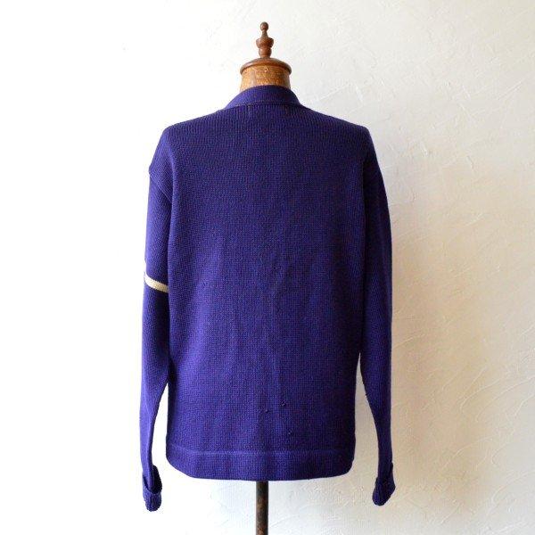 画像2: 50-60s JACK FROST WOOLEN WEAR Vintage Letterd Cardigan  【SALE】
