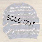 GANT Cotton Knit Border Sweater