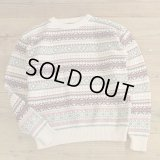 IZOD Cotton Knit FairIsle Pattern Sweater