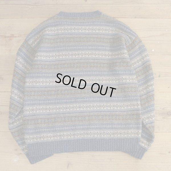 画像2: St JHON`S BAY All Over Pattern Crew Neck Sweater