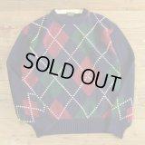 BROOKS BROTHERS Cotton Knit Argyle Sweater