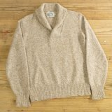 ENVIRONMENTAL CLOTHING Shawl Collar Sweater 【Medium】