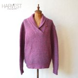 80s Woolrich Shawl Collar Mix Knit Sweater 【レディース】 【SALE】