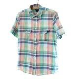 LAND`S END コットン チェックシャツ 【Sサイズ】 【SALE】