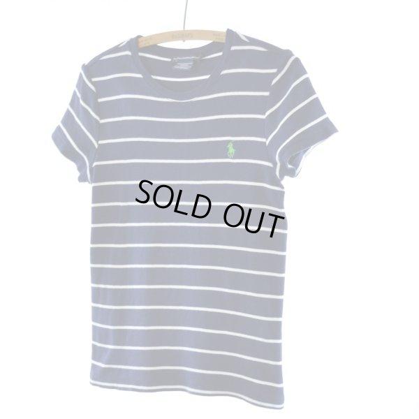 画像1: Ralph Lauren ボーダーTシャツ 【約 Sサイズ】
