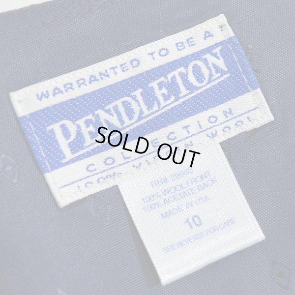 画像3: PENDLETON ペンドルトン ウールチェック ベスト 【約 Mサイズ】 【レディース】