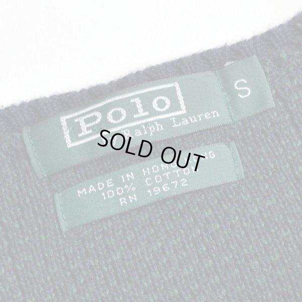 画像3: Polo Ralph Lauren ポロ ラルフローレン チェック コットンニット セーター 【約 Mサイズ】 【レディース】