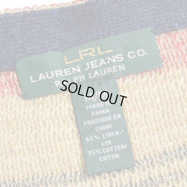 画像3: LAUREN JEANS Ralph Lauren ボートネック ボーダーセーター 【Mサイズ】 【レディース】