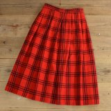 Woolrich Wool Check Long Skirt 【Ladys】