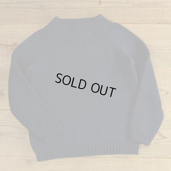 画像1: LAUREN Ralph Lauren Cotton Knit Hi Neck Sweater