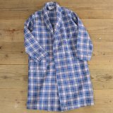 REST-SAFE ROBE Flannel Check Gown 【Ladys】