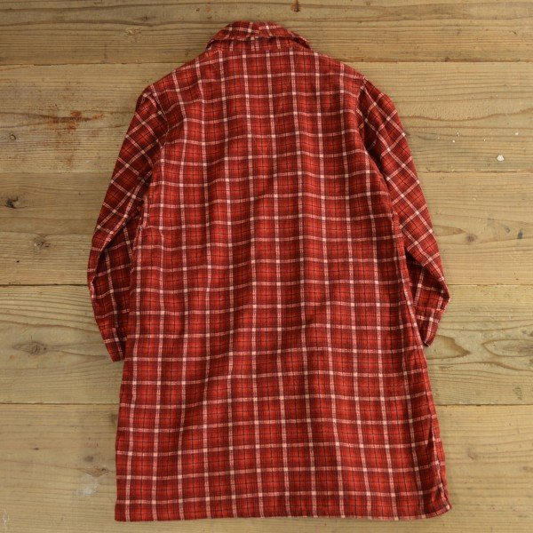 画像2: 60s Hadson Flannel Check Gown 【Ladys】