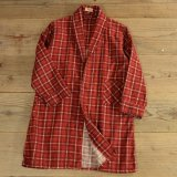 60s Hadson Flannel Check Gown 【Ladys】