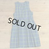 KAREN SCOTT Flannel Check Long Onepiece 【Ladys】