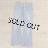 60-70s Levi's 646 Bell Bottom Denim Pants 【Ladys】