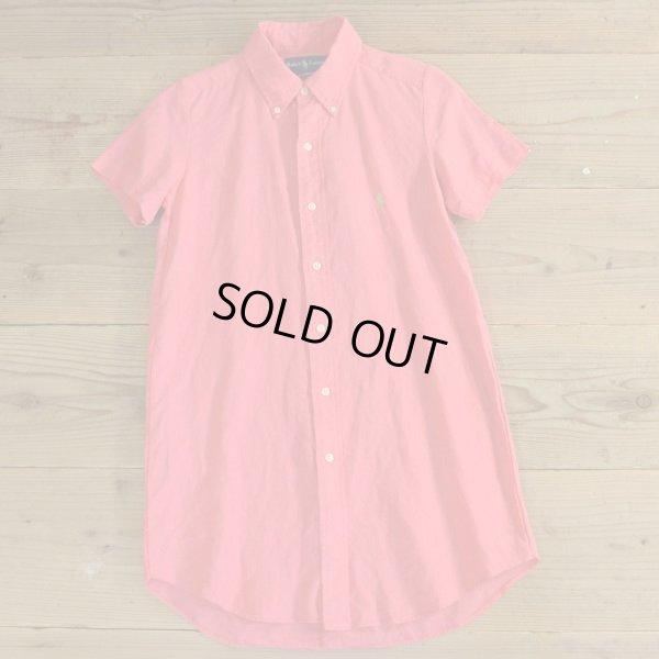 画像1: Ralph Lauren Remake Shirts Onepiece 【Ladys】
