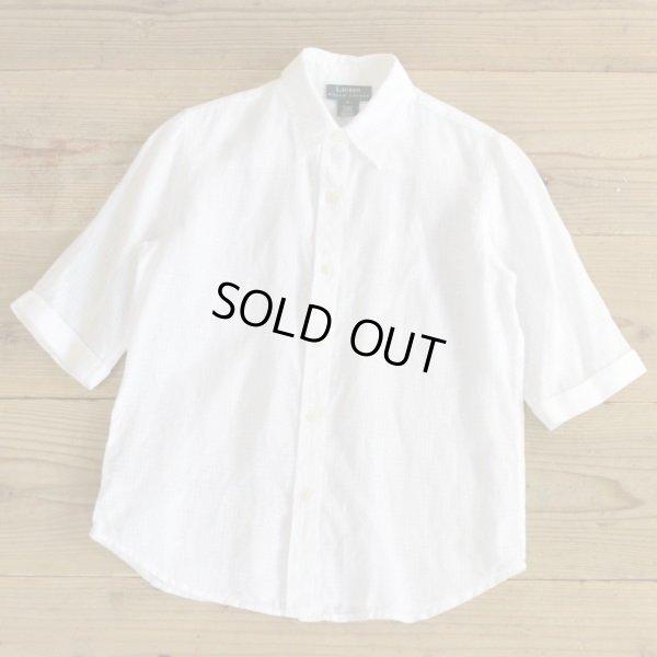 画像1: LAUREN Ralph Lauren Linen Shirts 【Ladys】