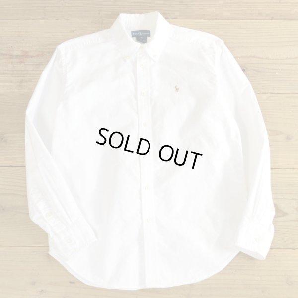 画像1: Ralph Lauren B.D White Shirts 【Ladys】