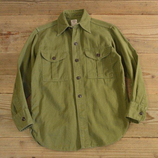 画像1: 60s BOY SCOUTS OF AMERICA Vintage Shirts 【Ladys】