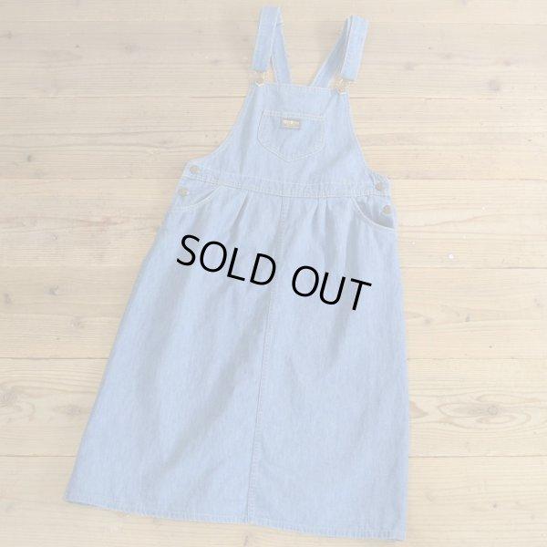 画像1: OSH KOSH B`GOSH Denim Jumper Skirt MADE IN USA 【Ladys】