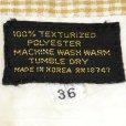 画像3: 70-80s Unnown Polyester Half Check Pants (3)