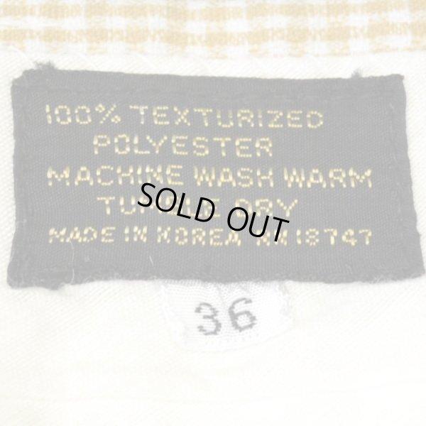 画像3: 70-80s Unnown Polyester Half Check Pants
