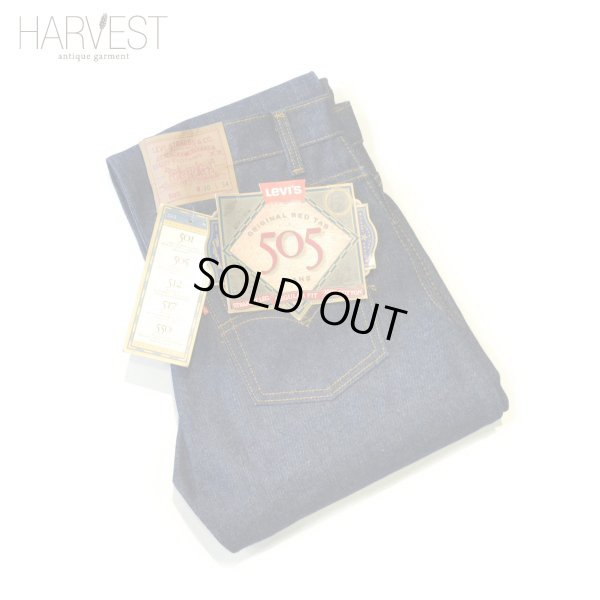 画像1: Levi`s 505 Denim Pants USA Dead Stock
