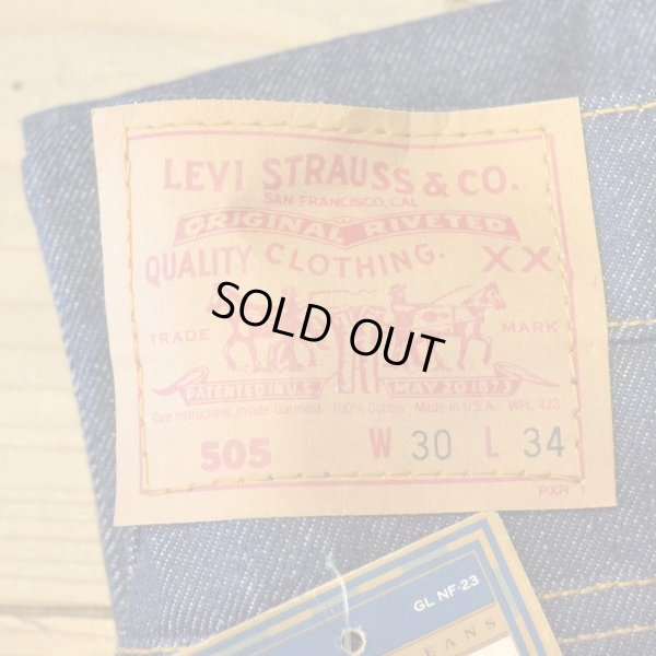画像4: Levi`s 505 Denim Pants USA Dead Stock