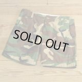 Unknown Camouflage Short Pants MADE IN USA 【W35】