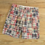 J.CREW Patchwork Check Half Pants 【W31】