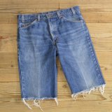 Levi's 517 Denim Cut Off Half Pants MADE IN USA 【W33】