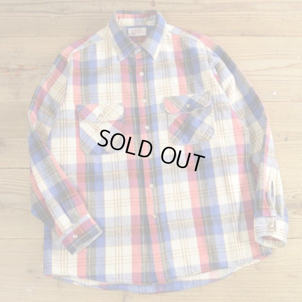 画像1: PRIVATE PROPERTY Heavy Flannel Shirts MADE IN USA 【Large】