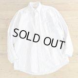L.L.Bean Stripe B.D Shirts MADE IN USA 【Medium】
