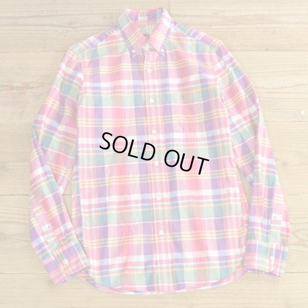 画像1: J.CREW Check B.D Shirts 【X-Small】